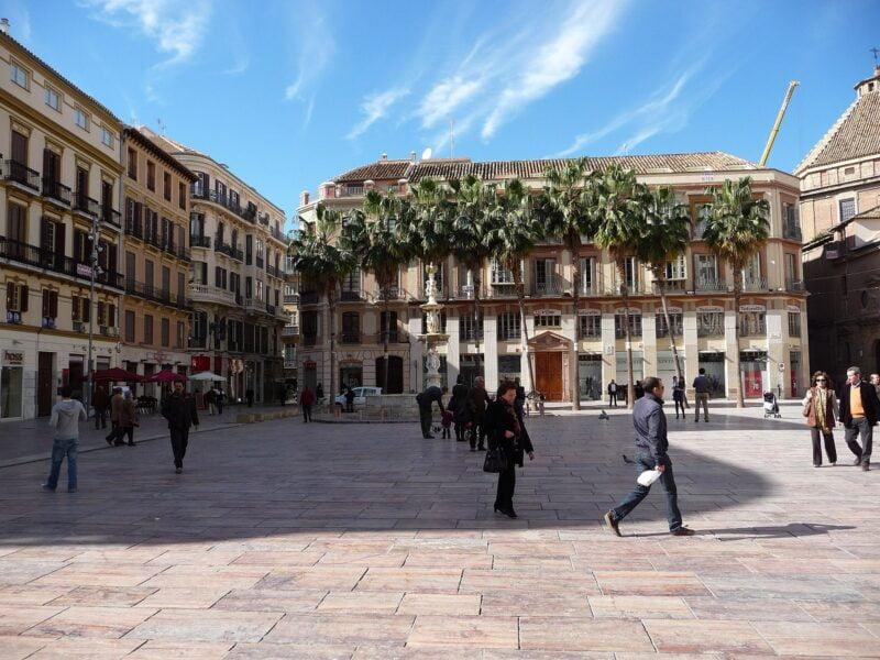 Plaza Constitución. Málaga