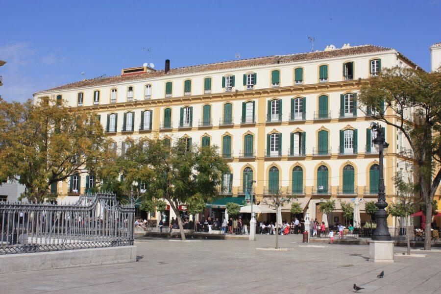 Plaza de la Merced. Málaga