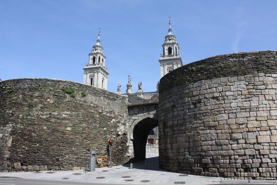 Puerta de Santiago. Lugo