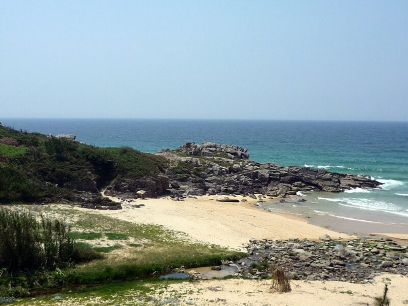 Playa del Dique. A Coruña
