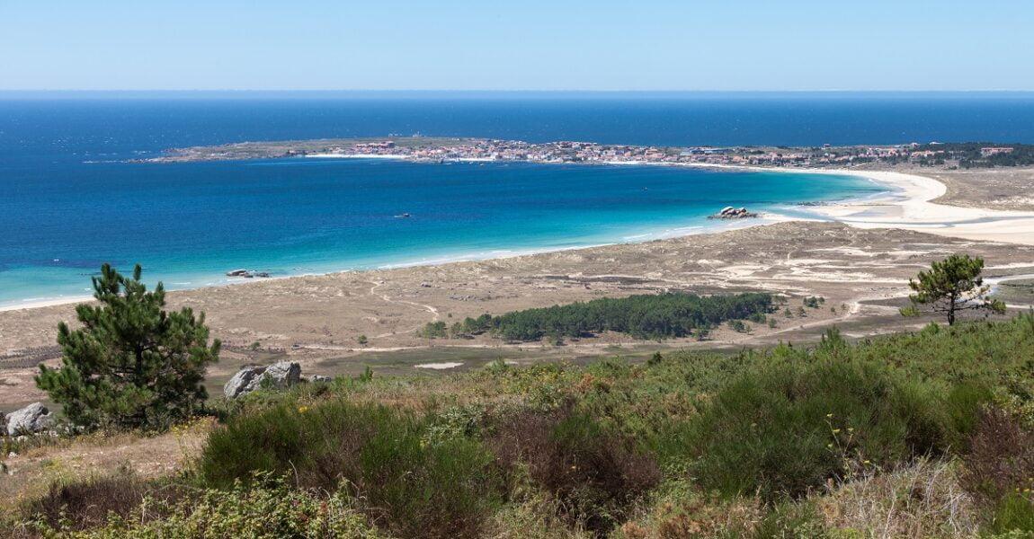 Playa de Corrubedo. A Coruña.