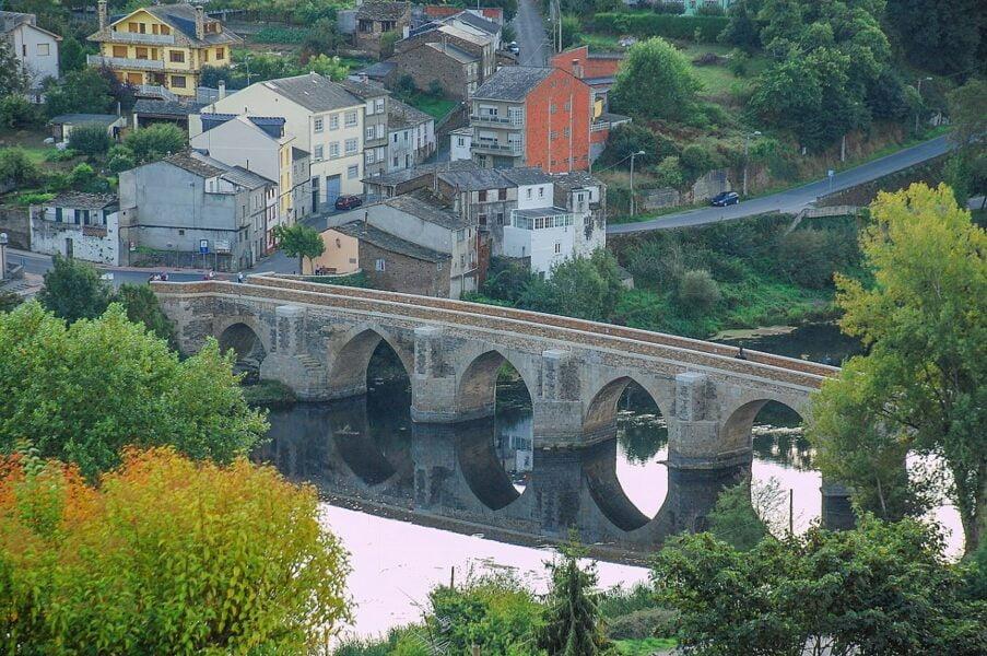 Puente romano.Lugo