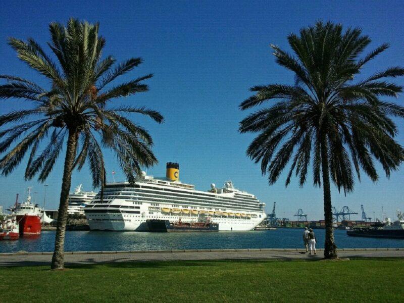 Puerto marítimo.Las Palmas