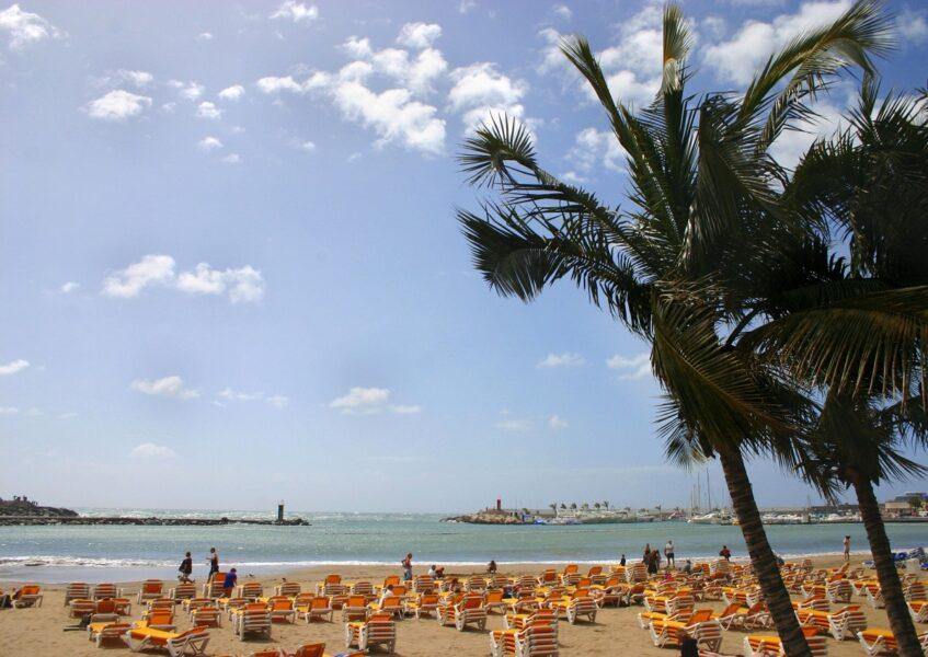 Playa de Puerto Rico. Gran Canaria