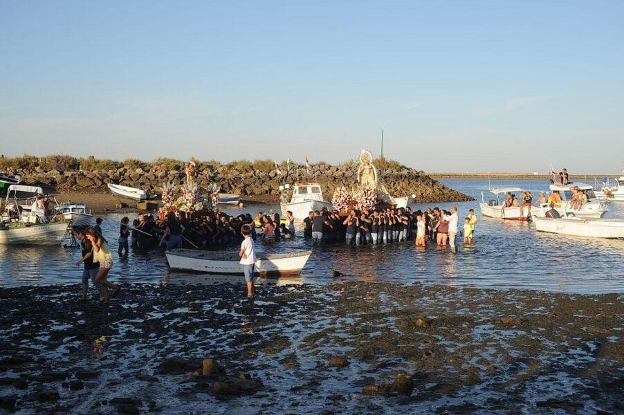 Playa Punta del Moral Huelva