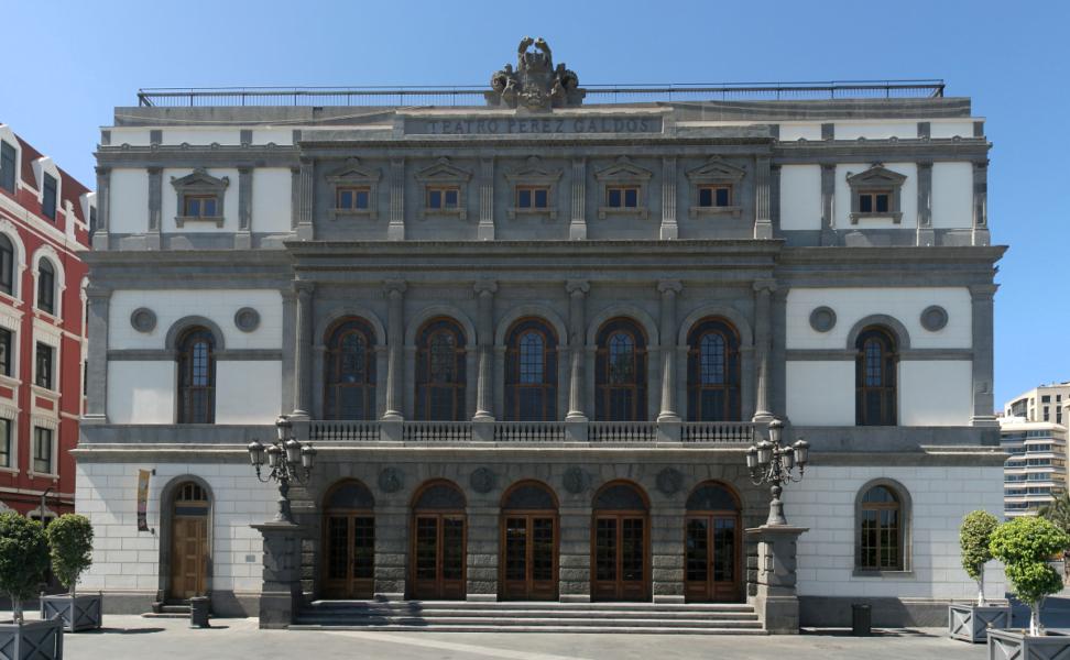 Teatro Pérez Galdós. Las Palmas