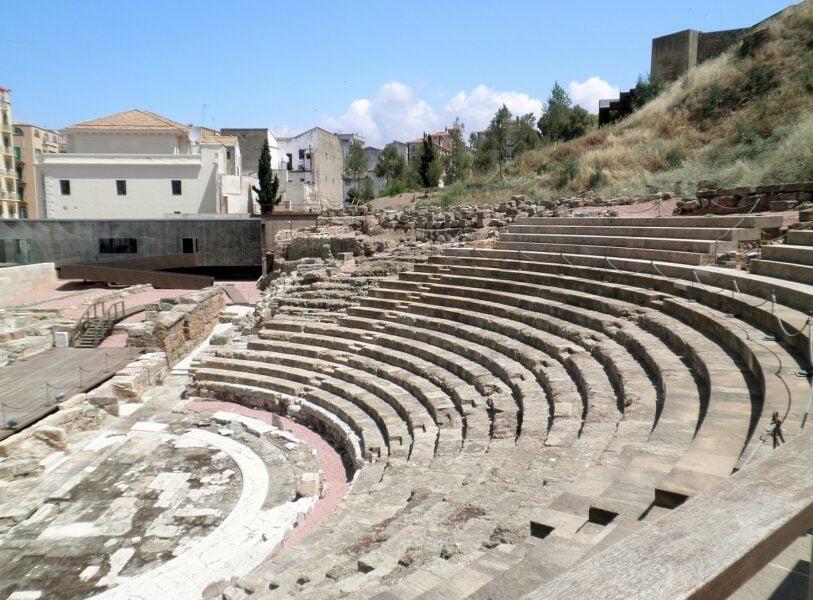 Teatro romano. Málaga