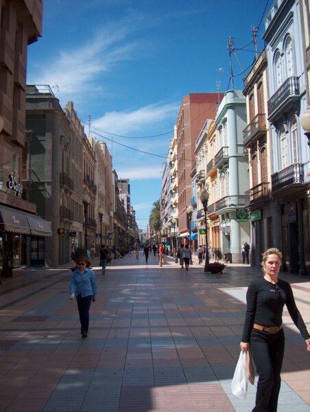 Barrio de Triana. Las Palmas
