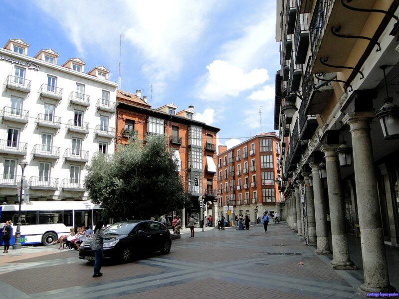 Plaza Fuente Dorada Valladolid
