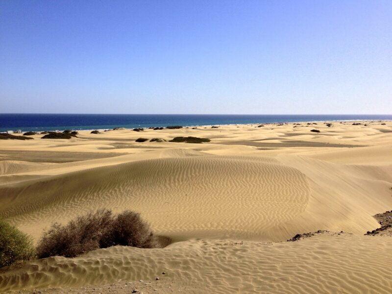 Dunas de Maspalomas. Gran Canaria