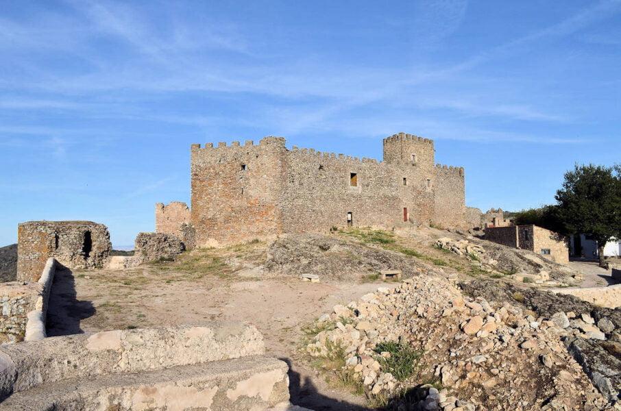 Castillo de Montánchez en Cáceres