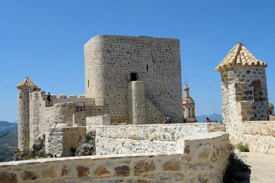 Castillo de Olvera en Cádiz