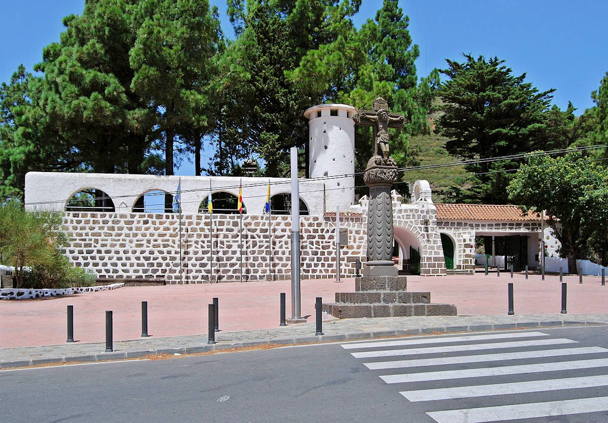 Tejeda-Gran-Canaria-Museo-de-Esculturas- Abraham-Cárdenes