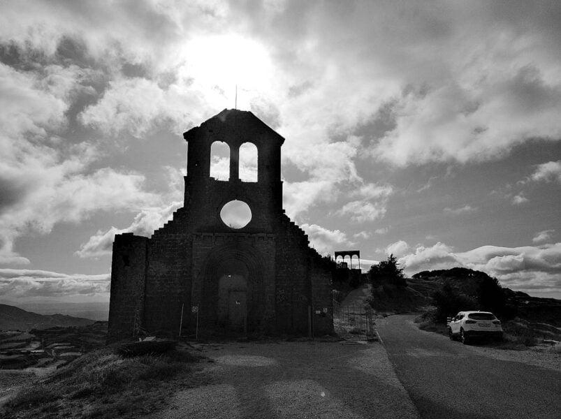 Ermita de San Miguel en Ujué