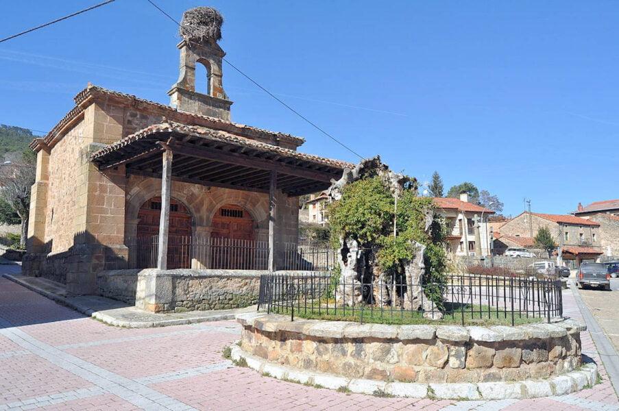 Ermita de la Soledad en Vinuesa