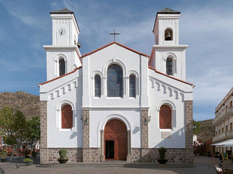 Iglesia Nuestra Señora del Socorro en Tejeda