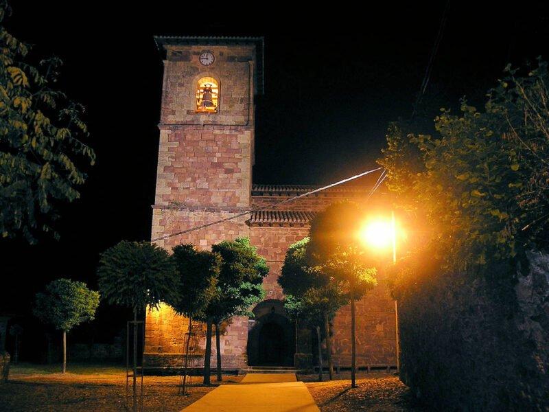 Iglesia de Nuestra Señora de la Asunción en Viniegra de Abajo