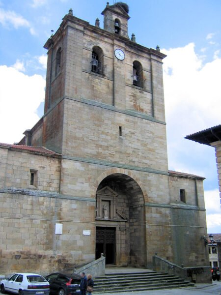 Iglesia de Nuestra Señora del Pino en Vinuesa