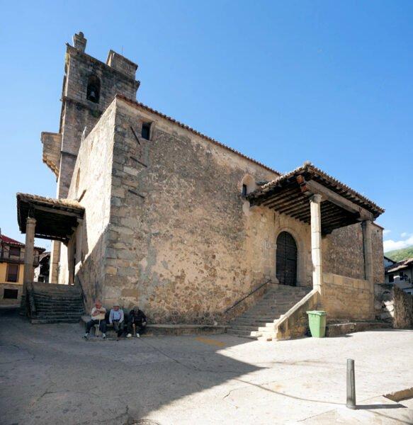 Iglesia de San Lorenzo en Garganta de Olla