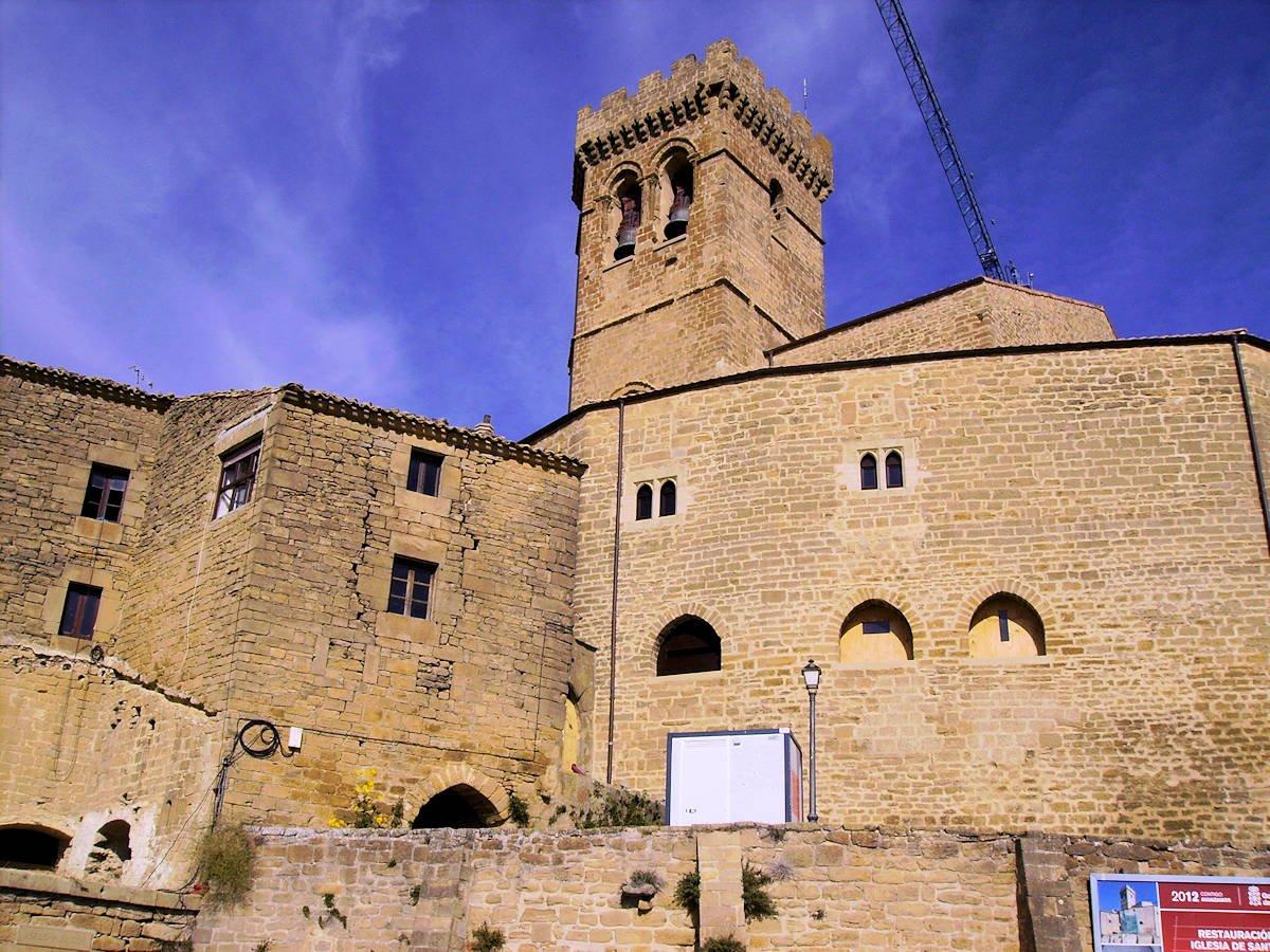 Iglesia-de-Santa-María-Ujué-Navarra