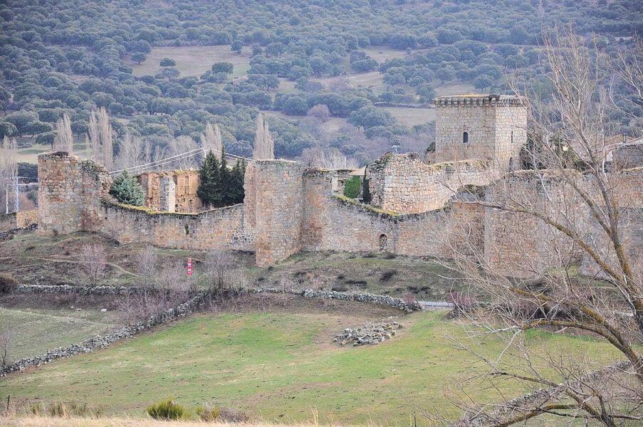 Murallas y castillo de Bonilla de la Sierra