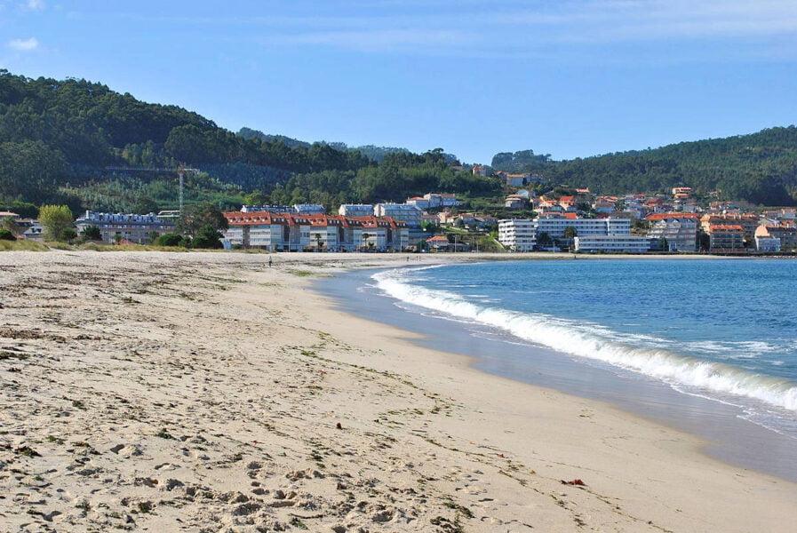 Playa de Ladeira en Baiona
