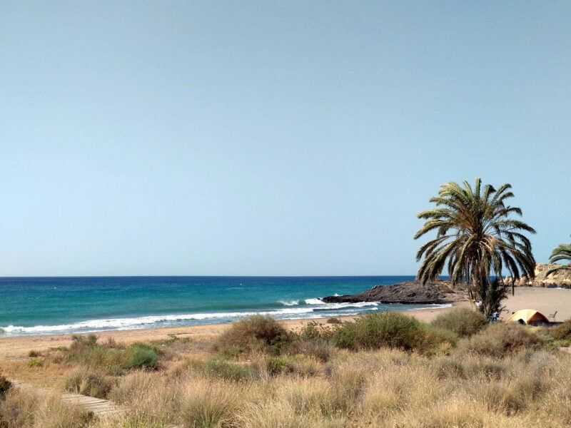 Playa de Percheles