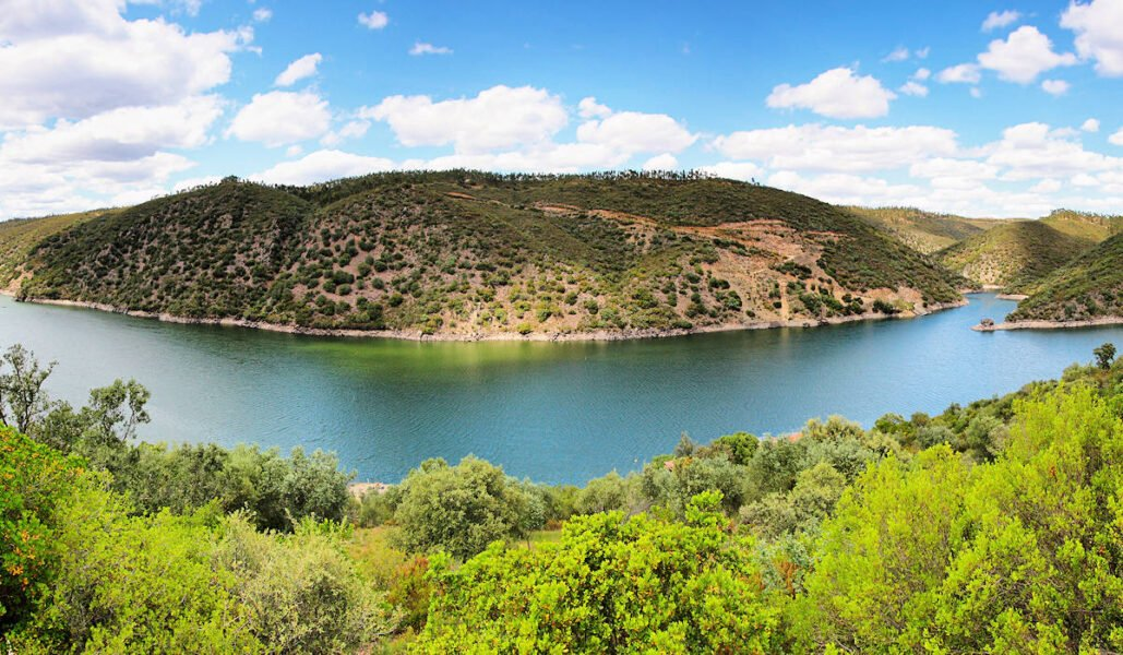 Río Tajo en Alcántara