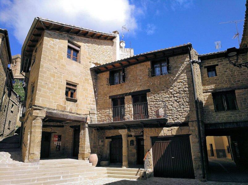 Visita Ujué en Navarra
