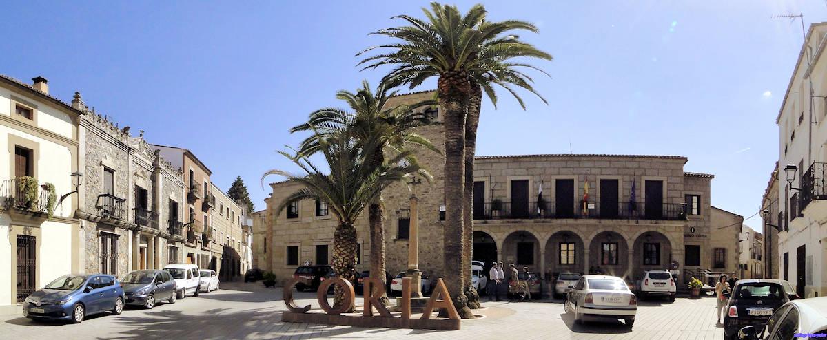 Visita Coria en Cáceres
