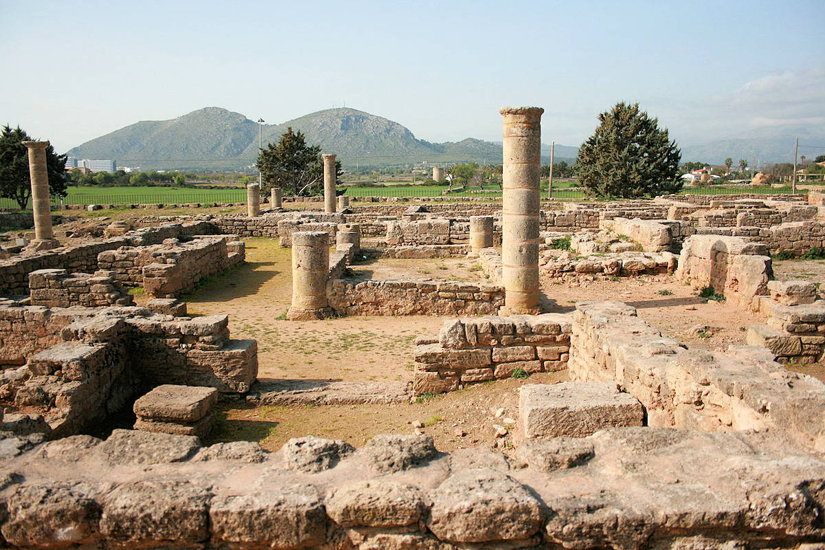 Alcúdia-Pollentia-ruinas-romanas
