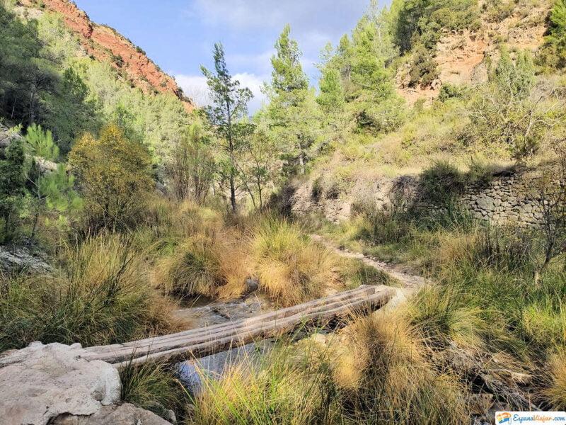 Camino al Río Carbo en Villahermosa del Río