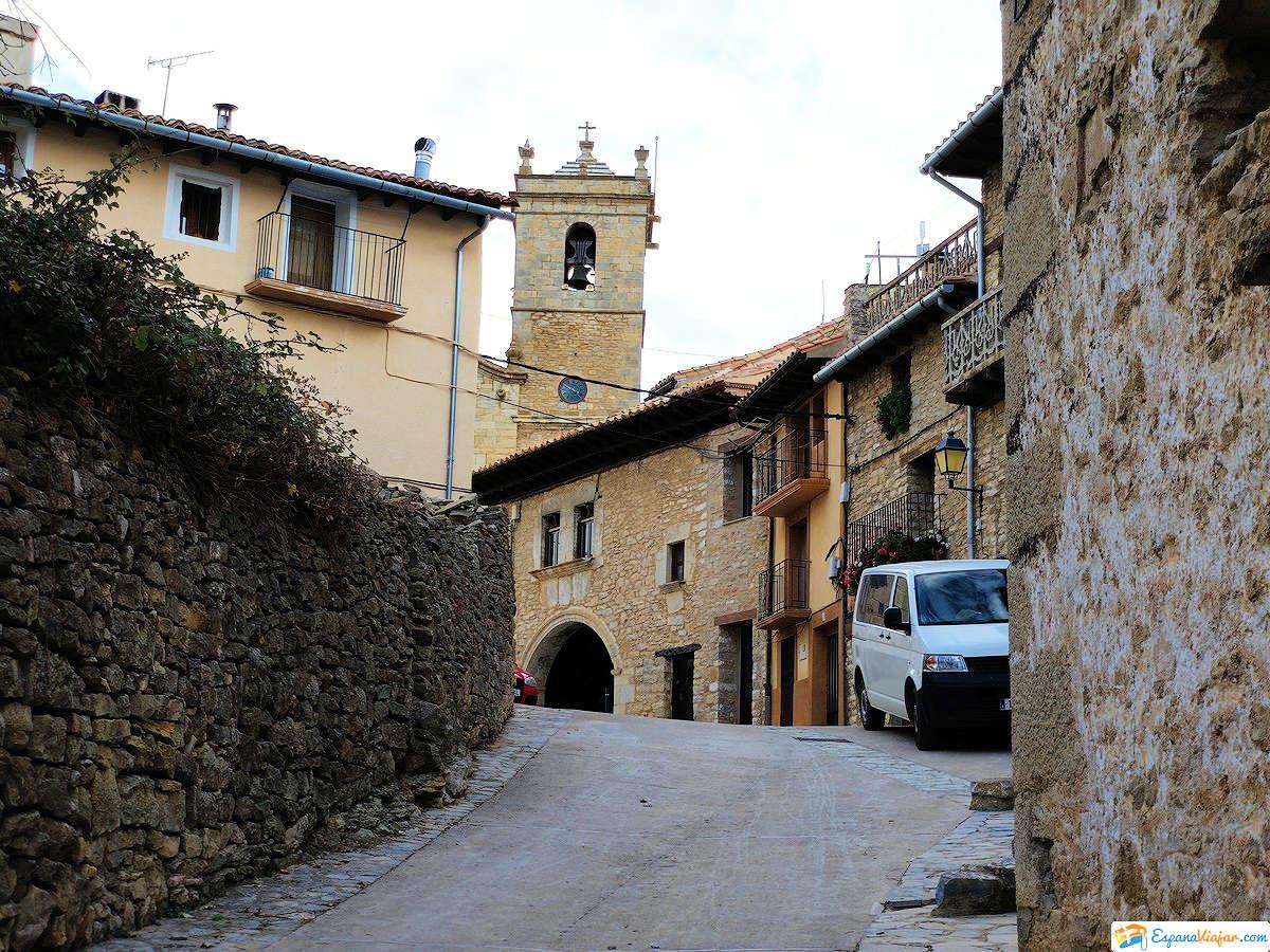 Castellfort vistas de la Iglesia