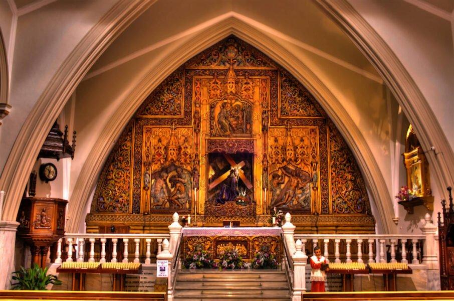 Interior de la Ermita de la Vera-Cruz de Manzanares