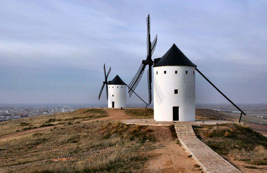 Molinos de viento en Cerro San Antón
