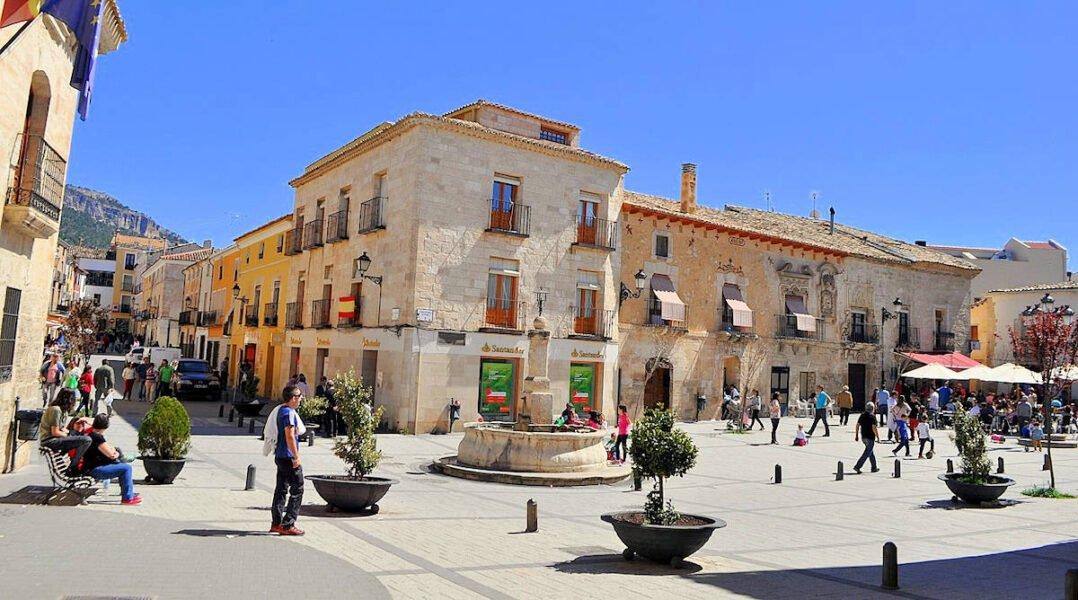 Plaza de los Condes en Priego