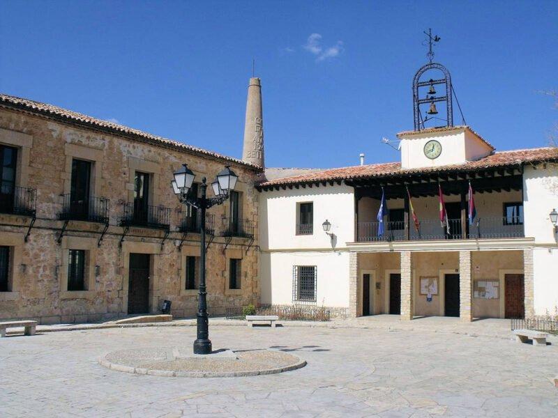Plaza del Ayuntamiento en Beteta