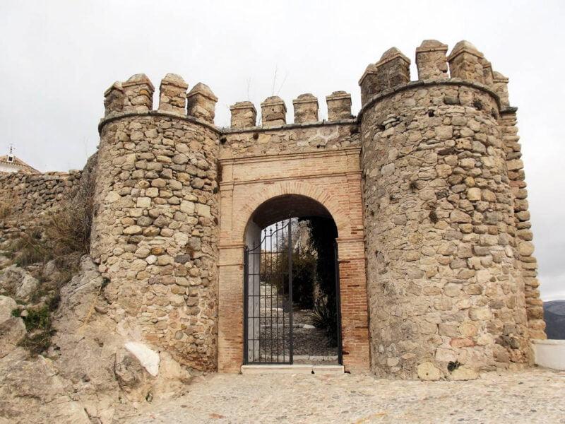 Puerta del Castillo de Carcabuey