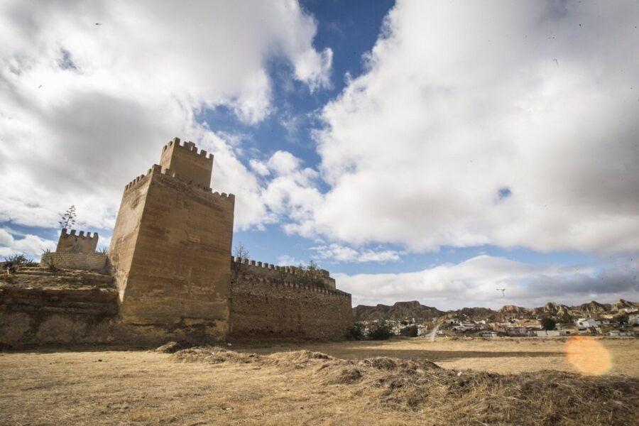 Alcazaba de Guadix en Granada