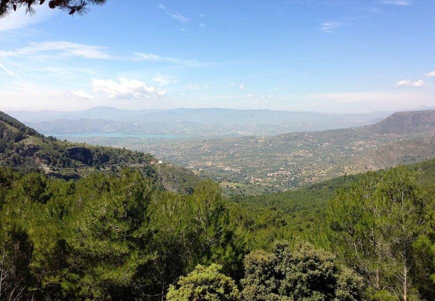 Parque Natural Sierra de Tejeda en Alhama de Granada