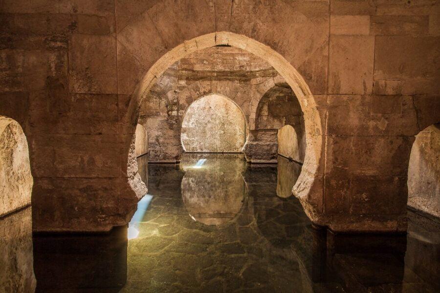 Termas romanas en Alhama de Granada