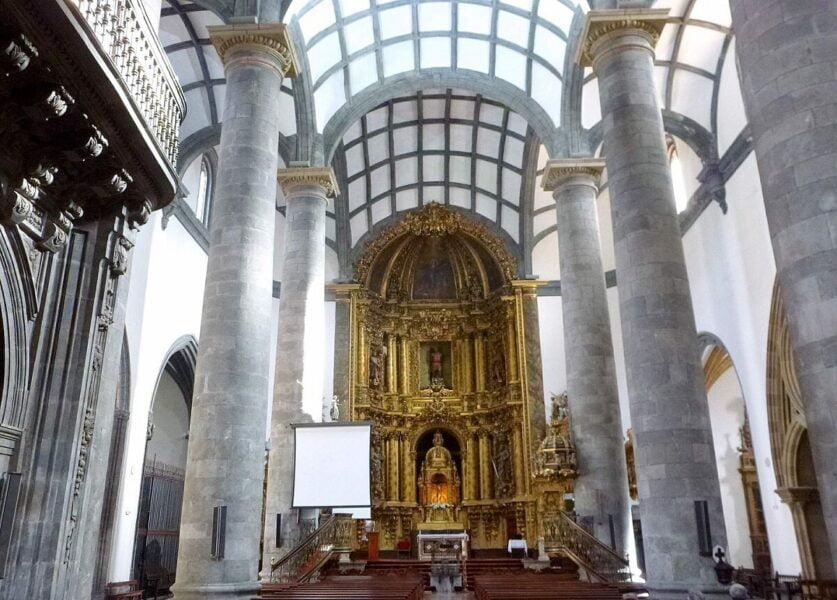 Altar Mayor de la Iglesia de San Sebastián de Soreasu