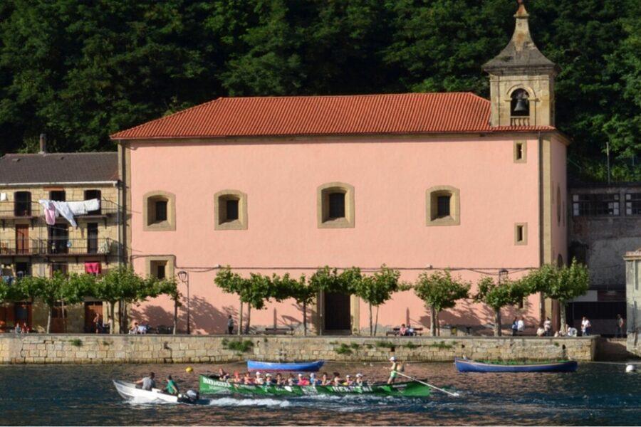 Basílica Santo Cristo de Bonanza en Pasaia