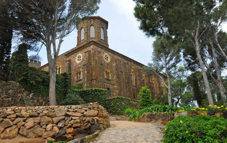 Calella de Palafrugell. Jardín Botánico de Cap Roig