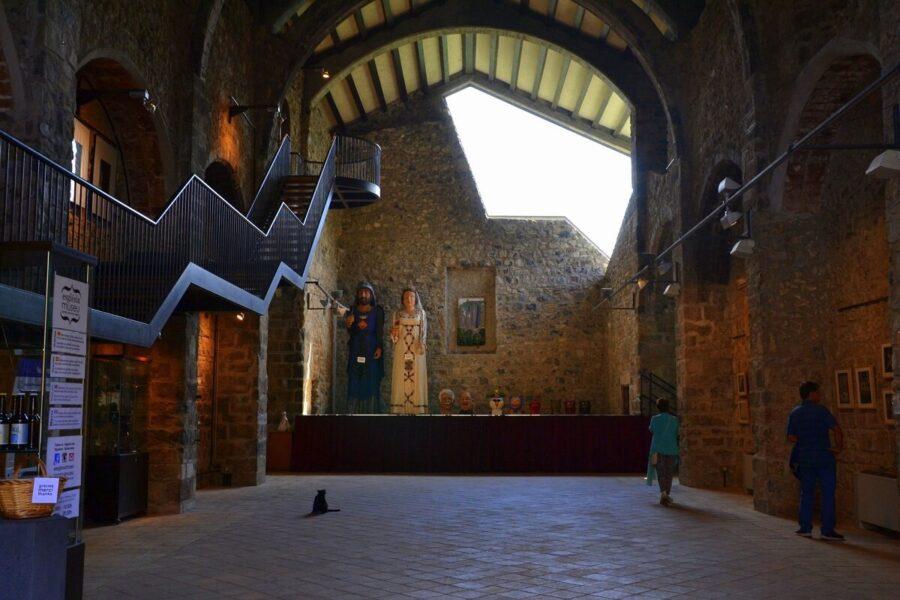 Centro Cultural. Castellfollit de la Roca. Girona