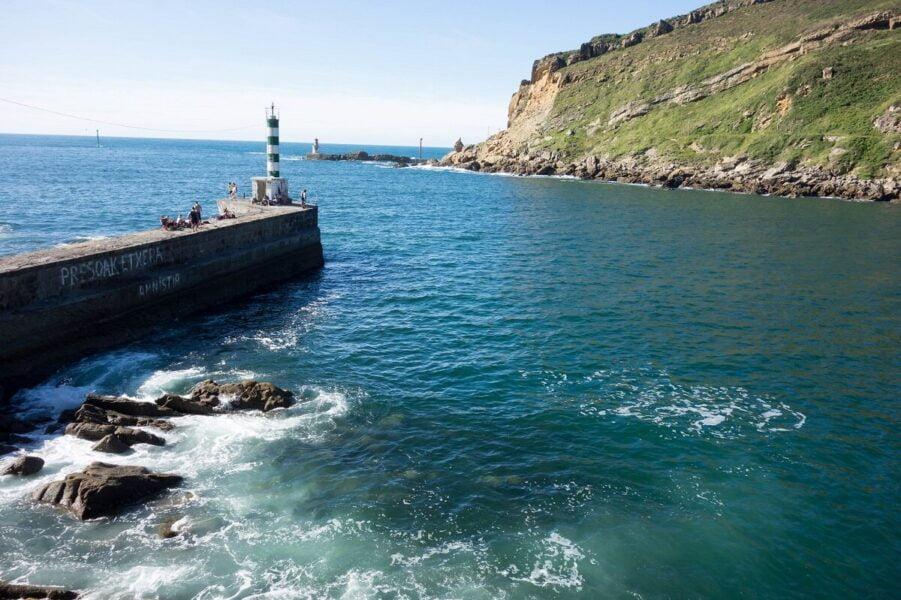 Faro de Plata en Pasaia en Pasaia