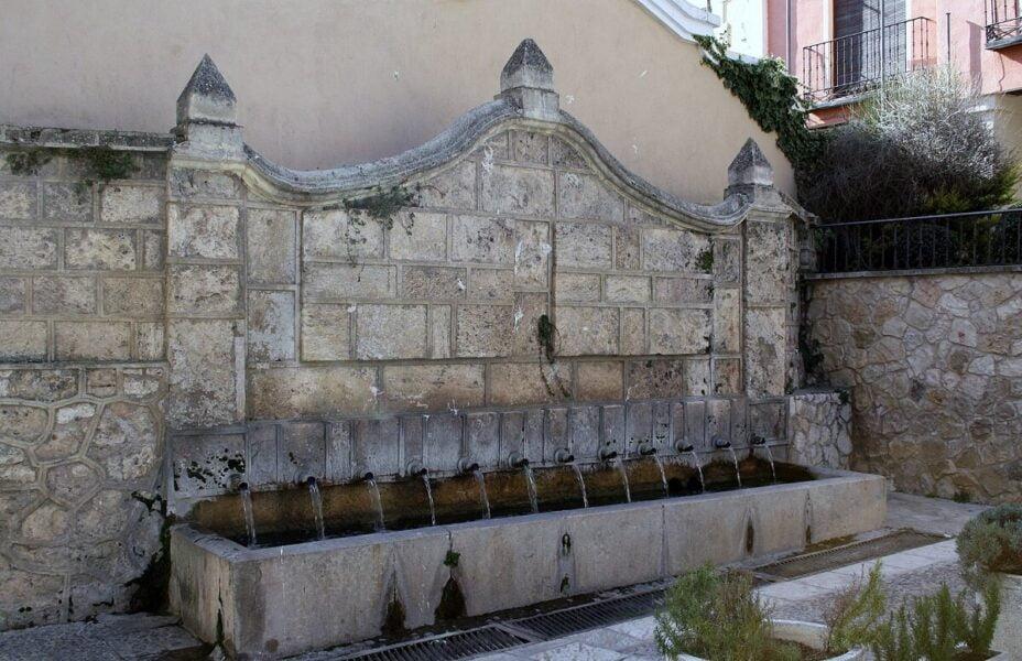 Fuente de la Blanquina en Brihuega
