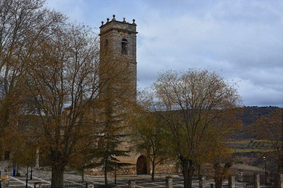 Iglesia Santa María de la Peña en Brihuega