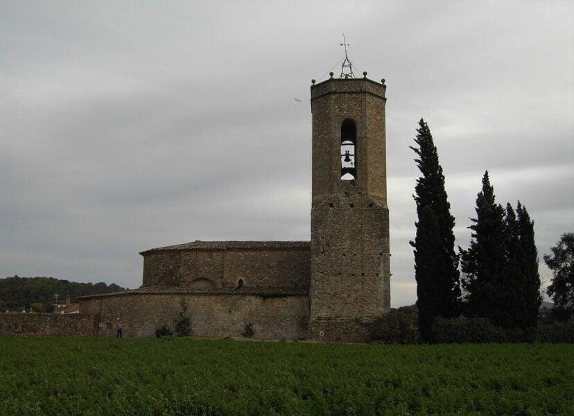 Iglesia de Sant Genís en Monells