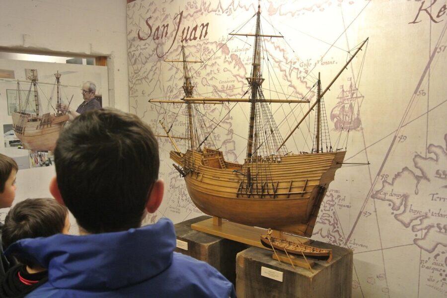 Museo de la Construcción Naval en Pasaia